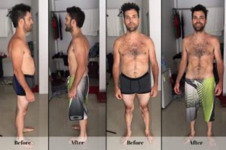 weight loss, OmDetox Reviews, before and after 7 day detox