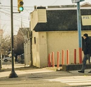 crosswalk in Philly