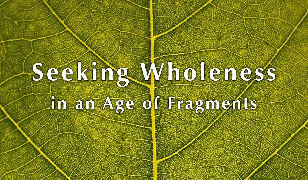 Webinar: Seeking Wholeness in an Age of Fragments