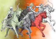 Apocalyptic Horsemen (Revelation 6:1-8)