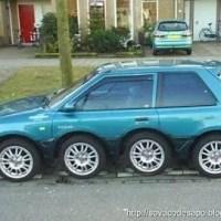 Humor : Carros estranhos, esquisitos e engraçados