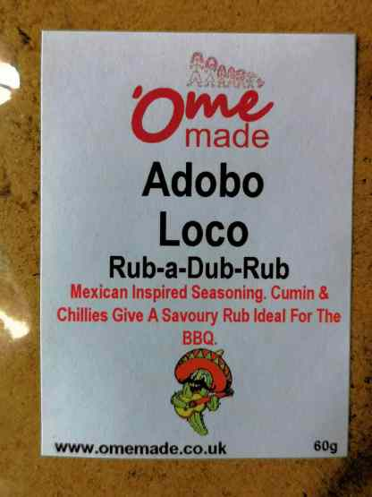 Adobo Loco Front Label