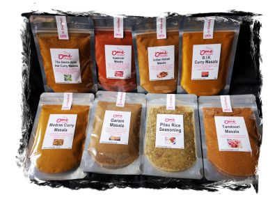spicy rubs & Curry spices