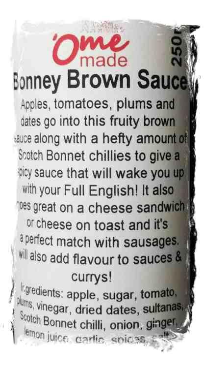 Bonney Brown Sauce