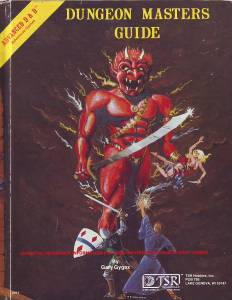Dungeon Masters Guide 1e
