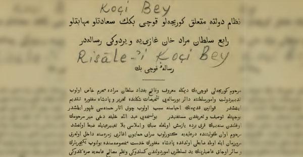 Koçi Bey Risalesi PDF