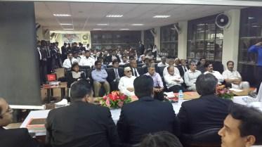 Participants at International Seminar on Global Tax Avoidance at LTBA 1