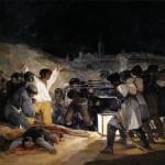 Os fuzilamentos de três de Maio, de Francisco de Goya