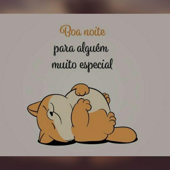 Um boa noite bem fofo!!!