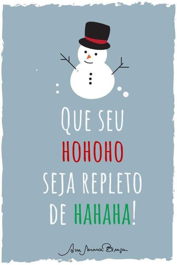 Frases de feliz Natal Alegre.