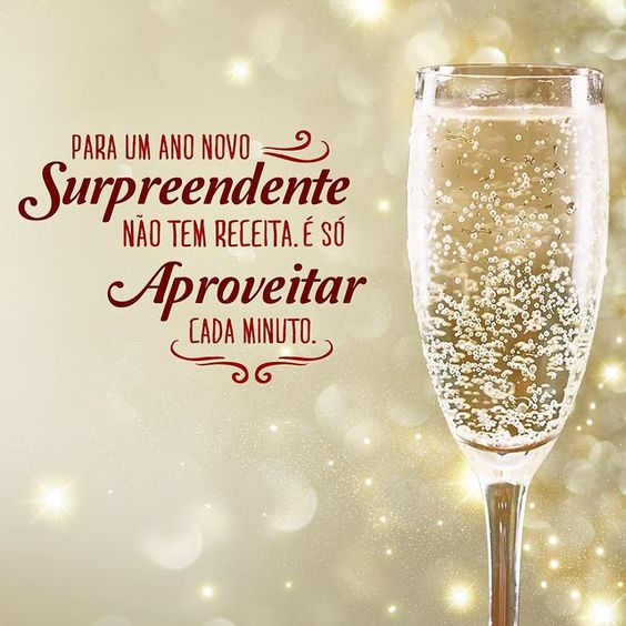 Feliz ano novo perfeito.