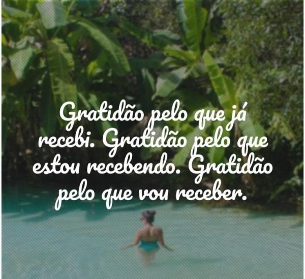 pela frases da gratidão vida