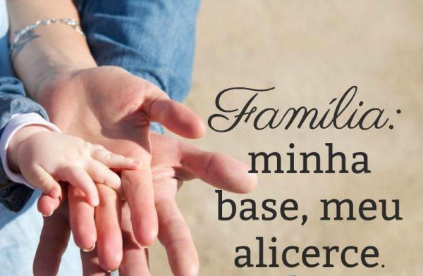 reflexão familia minha base