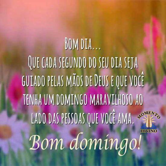 Dia guiado por Deus