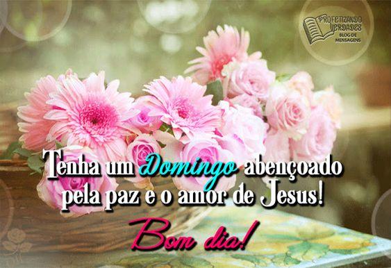 Domingo abençoado por Jesus