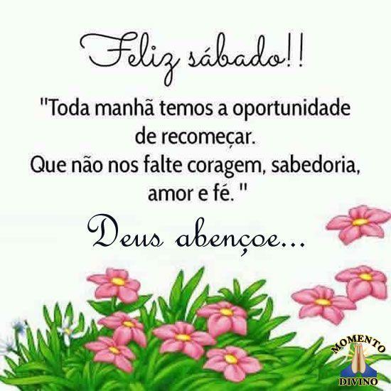 Feliz Sábado Deus abençoe
