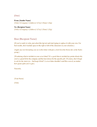 8 Formal Email Template Business Bursary Cover Letter Format Proper For Pfognhx8 7