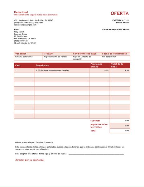 Ofertas Y Cotizaciones Officecom