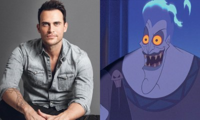 Cheyenne Jackson is playing Hades in 'Descendants 3'