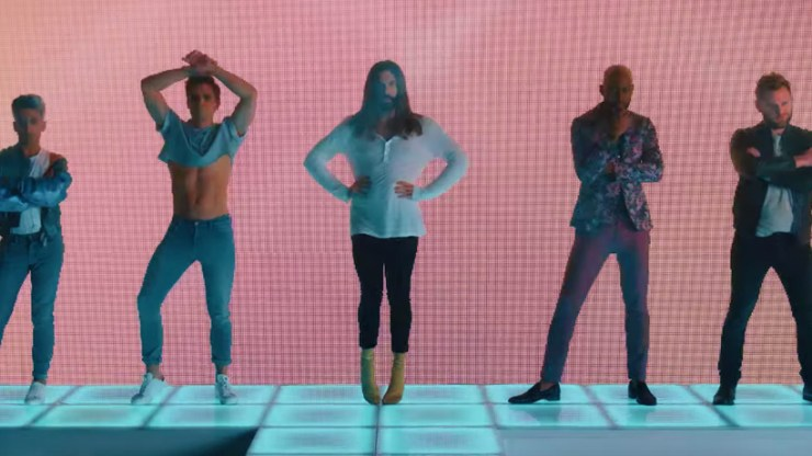'Queer Eye' cast dances it out in new music video for Betty Who's remix of the Netflix show's theme song