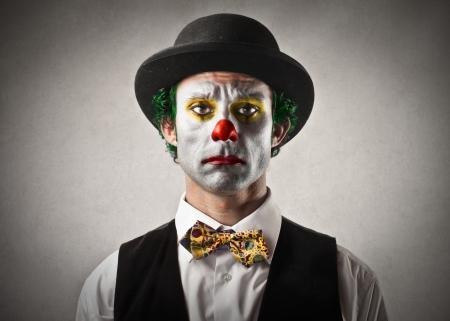 22756661 - sad bored clown