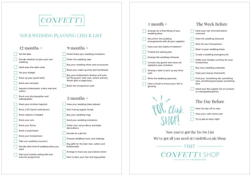 The Ultimate Wedding Planning Checklist: How To Plan A Wedding