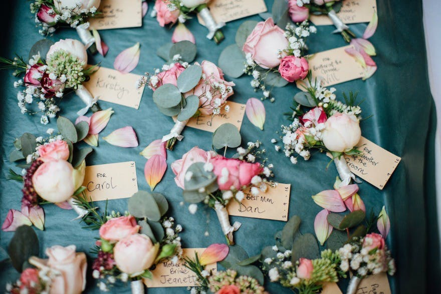 Wedding Buttonholes And How To Wear Them