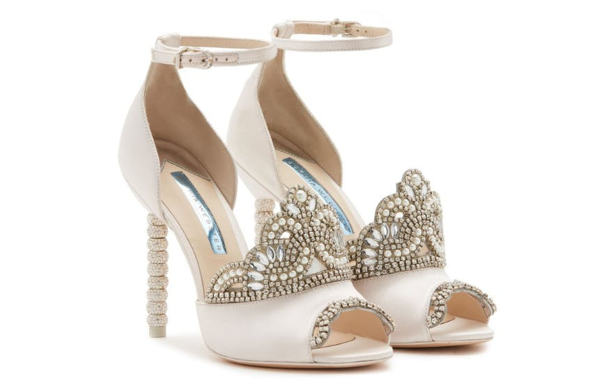 Princess Style Wedding Shoes by Sophia Webster