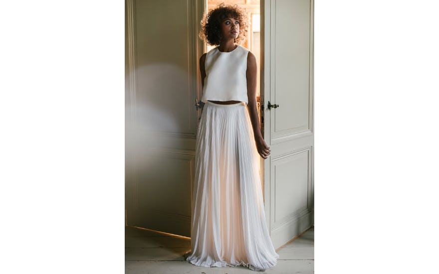 Two Piece Wedding Dress by Valentine Avoh