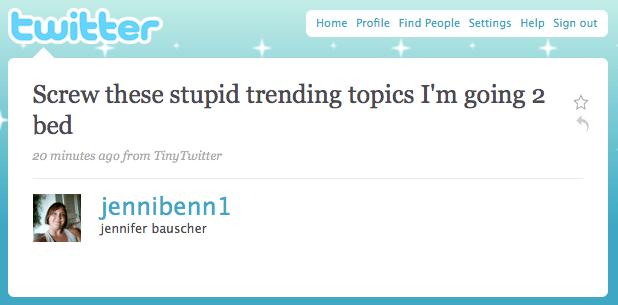 Stupid Trending Topics