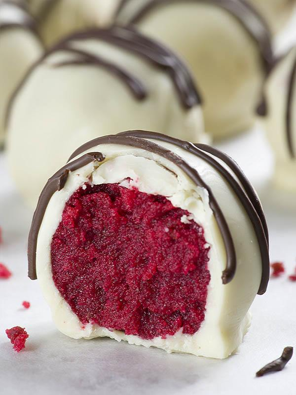 Red Velvet Truffles OMG Chocolate Desserts