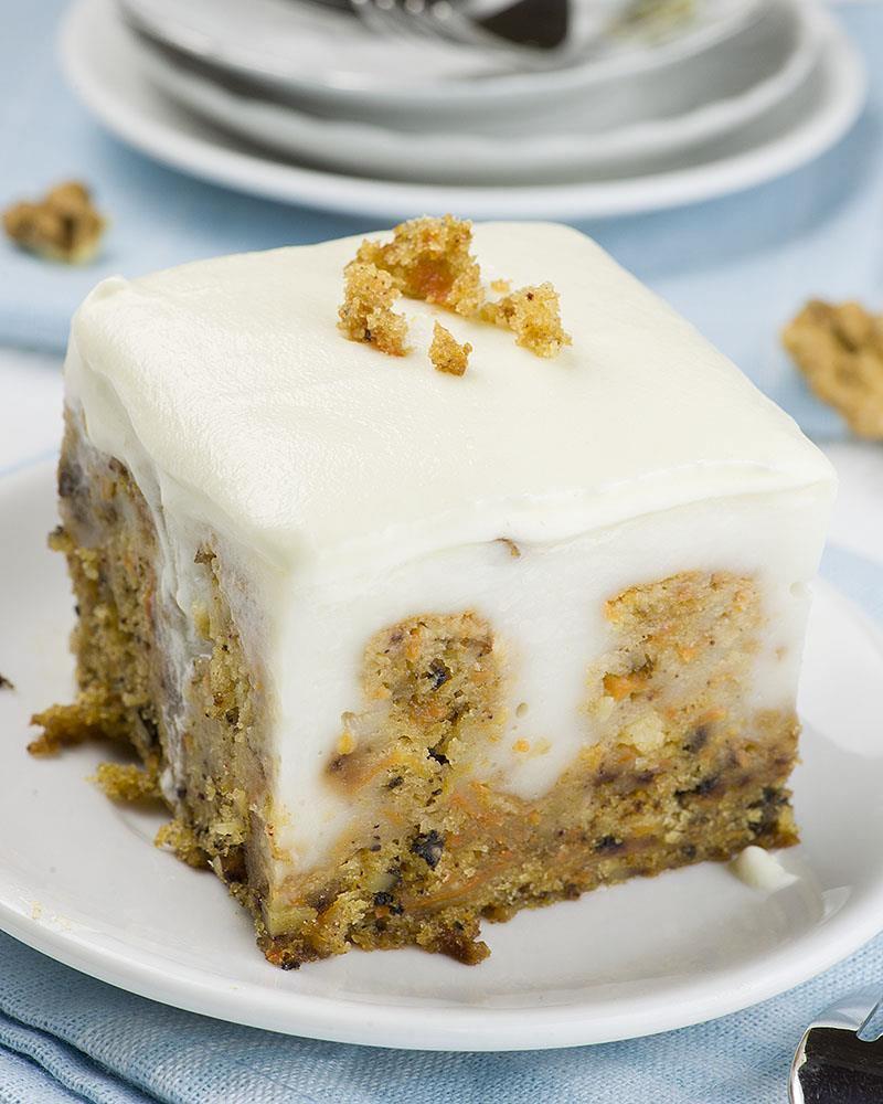 Carrot Cake Poke Cake Easy Easter Dessert Recipe With
