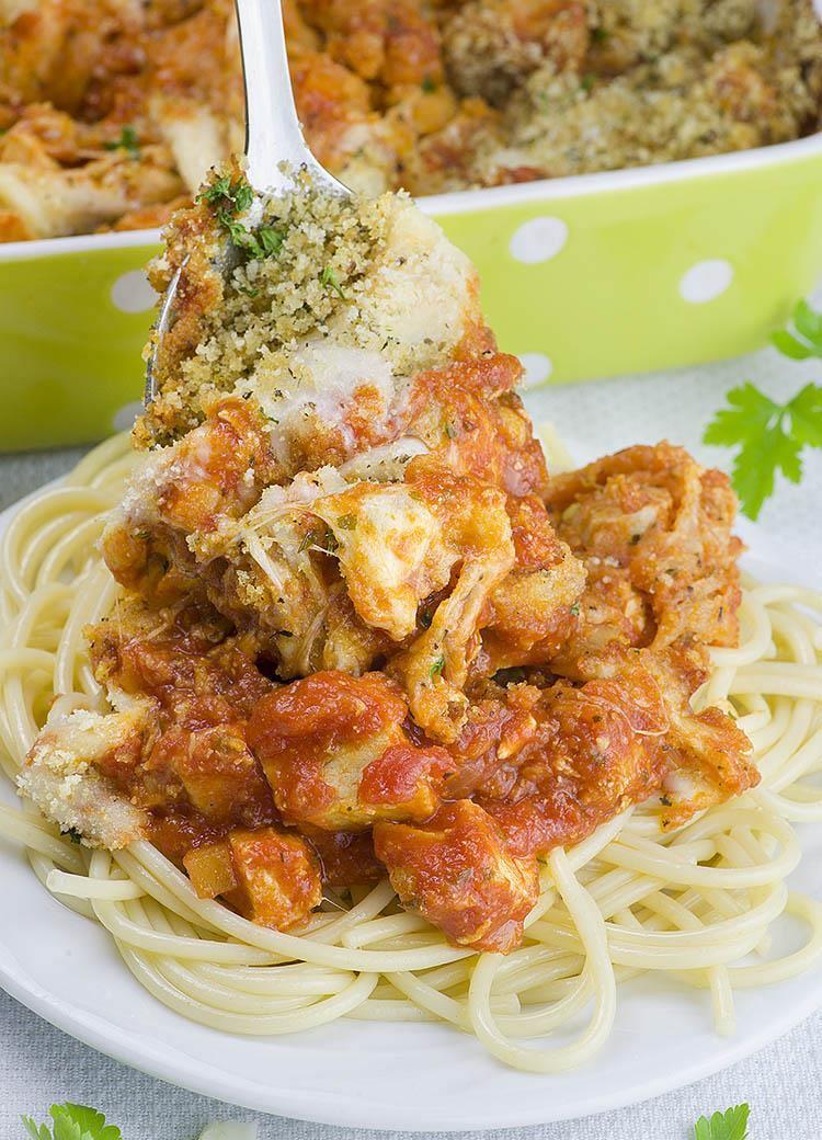 Daily Dinner Ideas: Chicken Parmesan Casserole