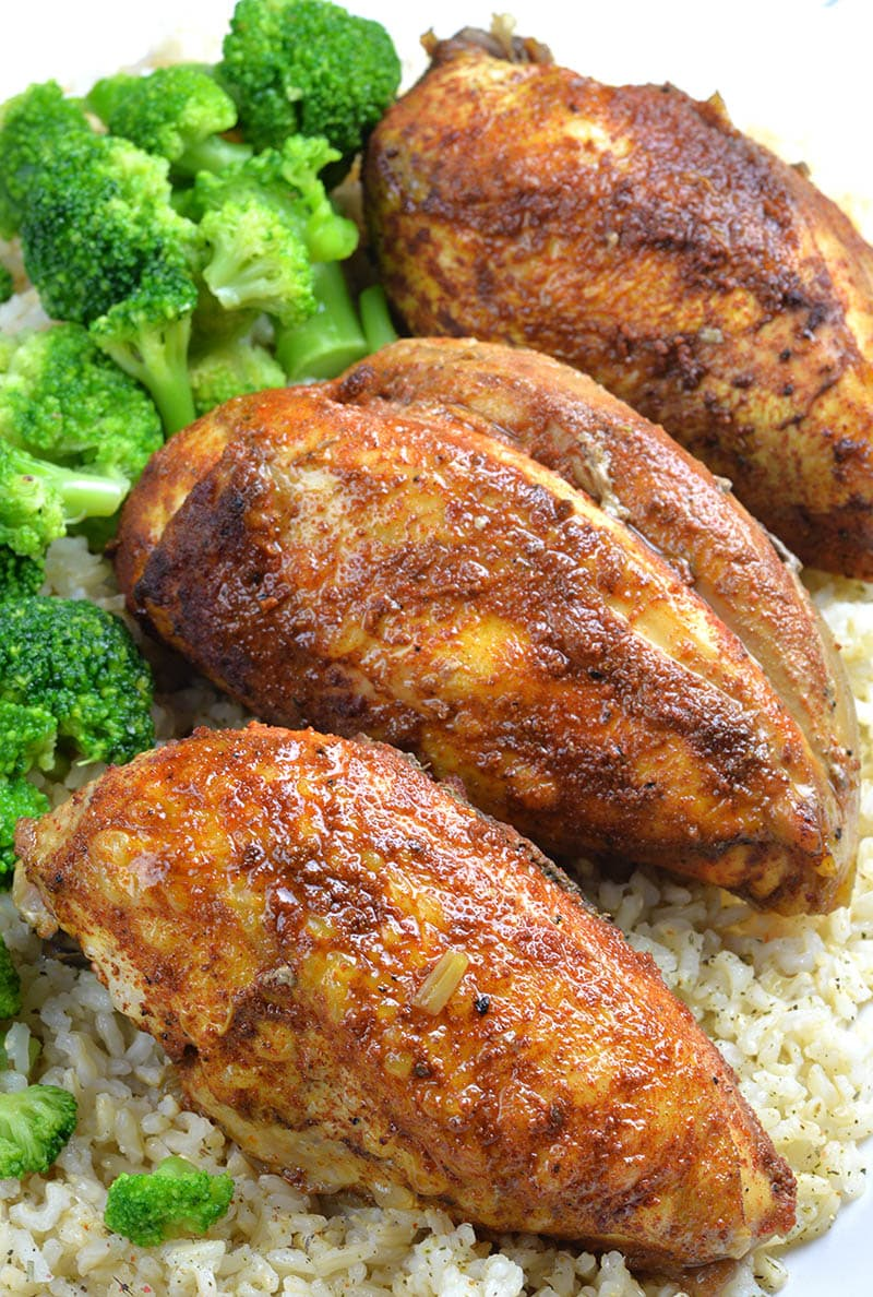 Healthy Slow Cooker Chicken Breast Recipe - OMG Chocolate ...