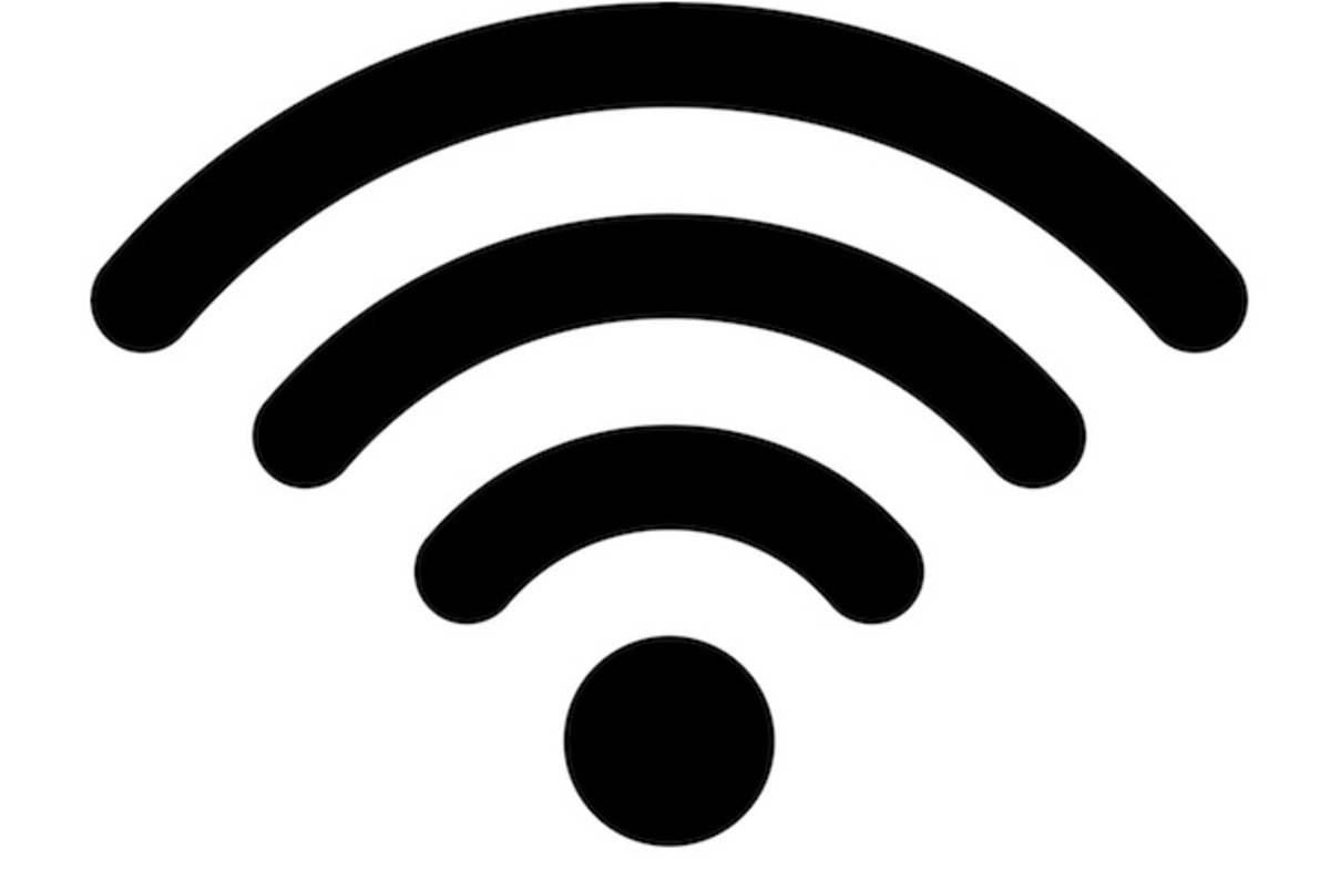 An image of a wifi symbol