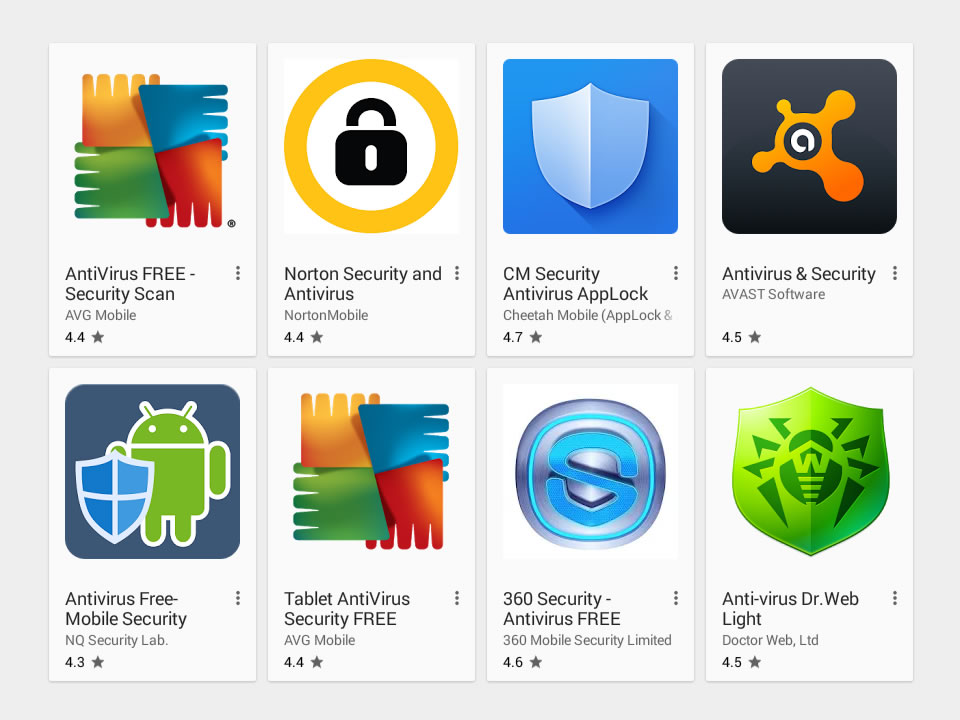 List Of Free Android Antivirus Apps For 2018   Omgfoss com