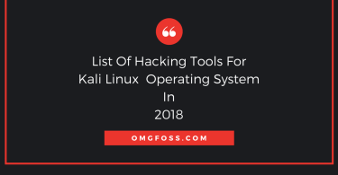 penetration tools for kali linux