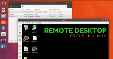 remote desktop tools in linux