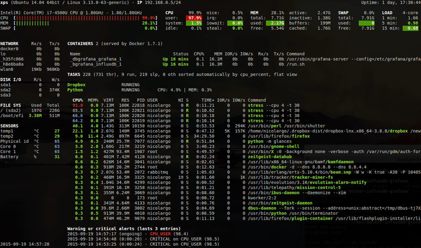 10+ Linux System Monitoring Tools Every SysAdmin Should Know