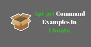 Apt-get Command Examples In Ubuntu [ Beginner's Guide ]
