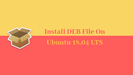 Install DEB package using gdebi