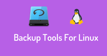 Backup Tools For Linux