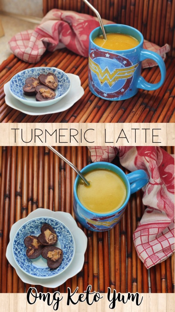 Turmeric, ginger latte