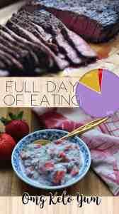 Full Day of Eating Keto