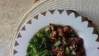 Chinese Ketchup Chicken - Keto, Sugar Free, Low carb