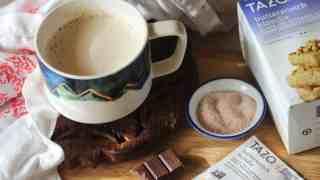 Bulletproof Butterscotch Blondie Fat Bomb Tea