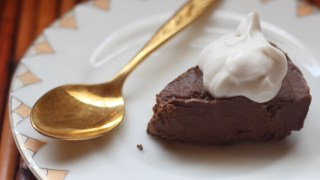 Chocolate Fudge Keto Pie