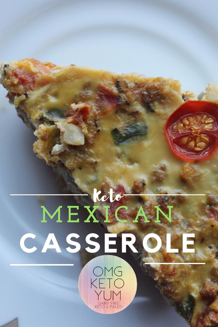 Keto Mexican Casserole