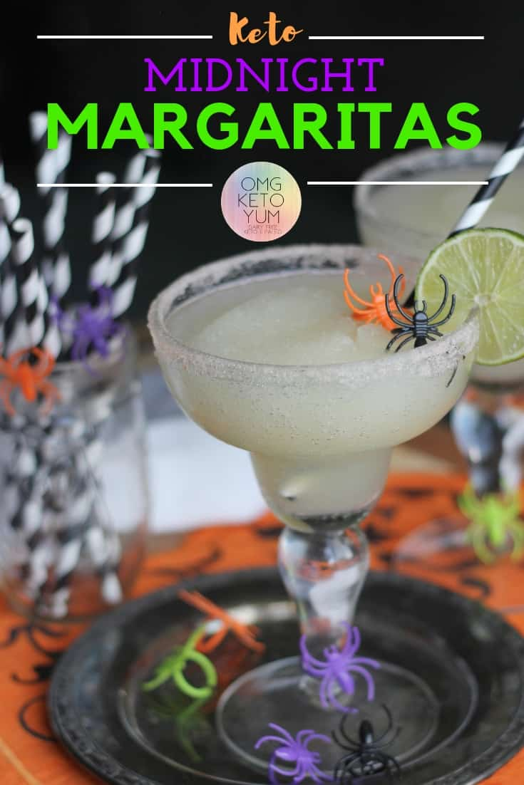 Keto Margaritas : Make these Midnight Margaritas Keto Style Tonight