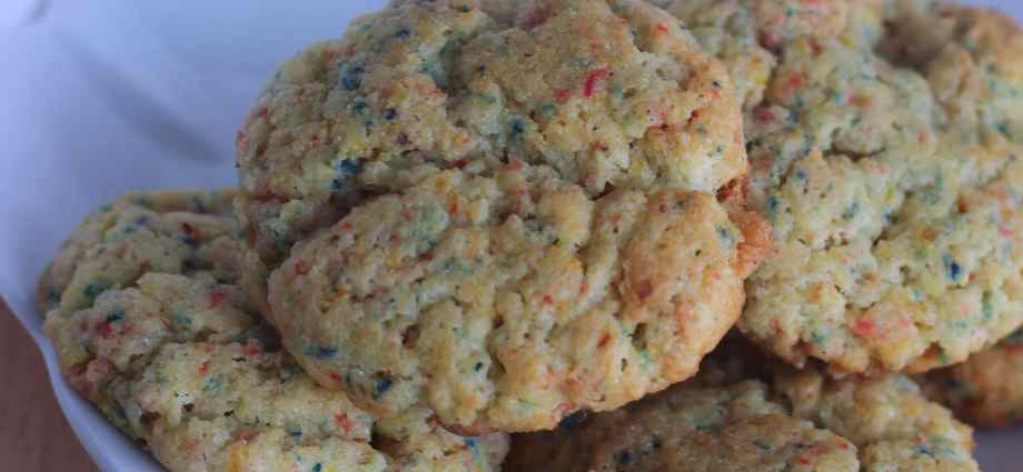 Keto Birthday Cake Cookies Low Carb Protein
